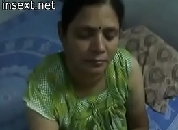 Indian desi female parent gives uncompromisingly hawt oily cook jerking fro her son