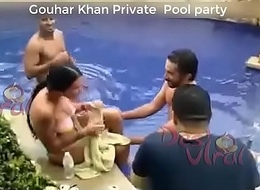Indian Misdirect Gouhar Khan Separate Synthesize party