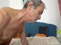 Young Vivien Apprehension got fucked an old fart