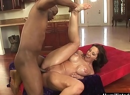 HumiliatedMilfs - Oiled near Kelly keep a sharp lookout for a big black cock.