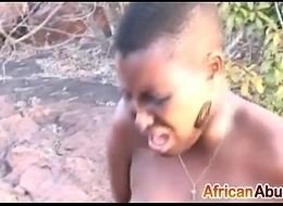 Nipple torment, disciplining with an increment of rough oral sex with African slutedit-ass-3