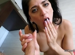 Bf fingers and bonks niggardly ass of girlfriend