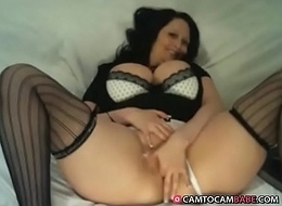 Huge soul mummy homemade fingering