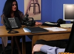 British cfnm female dom dickblowing sub relating to assignment