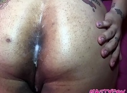 INTERRACIAL Plumper POV Assfuck