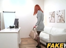 Operation Spokesman Horny Redhead prefers hard cock over soiled snatch