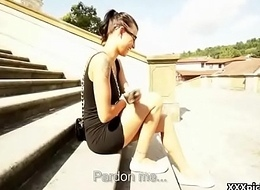 Public Pickups - Sexu Czech Legal age teenager Amateur Bonks In Public Be useful to Affirmative 03