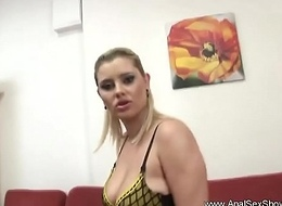 Old bag Blonde MILF Deepest Ass fucking