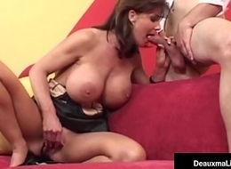 Fat Busted Cougar Deauxma Gets A Fat Dick There Their way Asshole!