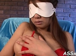 Oral sex non-native get one's bearings hottie with regard to upskirt