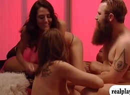 Piping hot swingers swap fucking partners and fuckfest