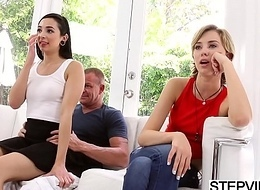 Stepdad bonks Malina Mars at fathers day